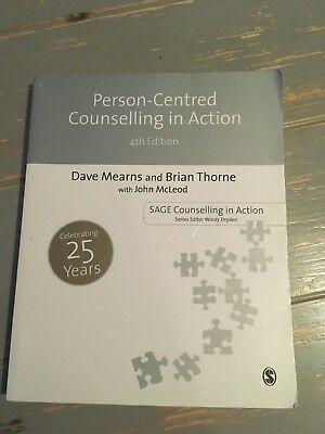 Person-Centred Counselling in Action by Brian Thorne, John McLeod, Dave...