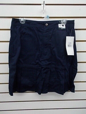 Girls French Toast Uniform Navy Skort w/ Pleated Hem Size 20