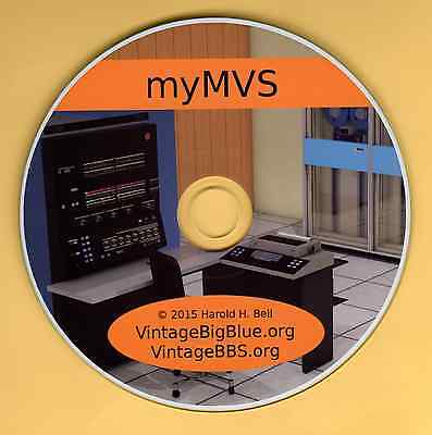 Great Mother of z/OS  ---->  IBM 370 Mainframe OS on PC ----> myMVS