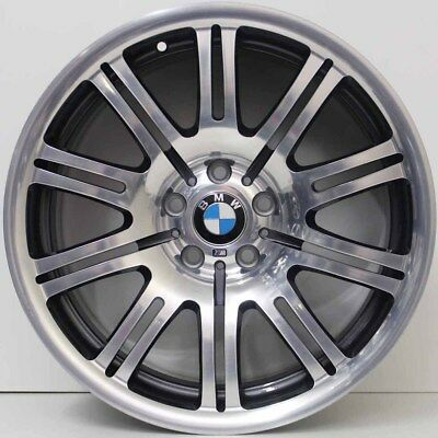 19 Inch Genuine Bmw M3 E46  Widepack Alloy Wheels In Immaculate Condition