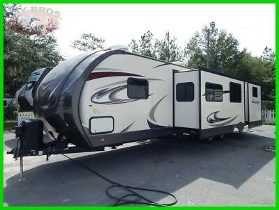 2017 Forest River Wildwood Heritage Glen Lite T300BH Used Travel Trailer Bunk