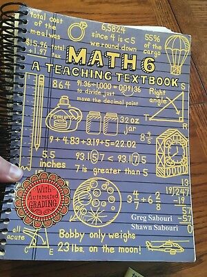 Teaching textbooks math 3 student workbook answer booklet 4 cd rom teaching textbooks math 6 student textbook and answers no cds fandeluxe Images