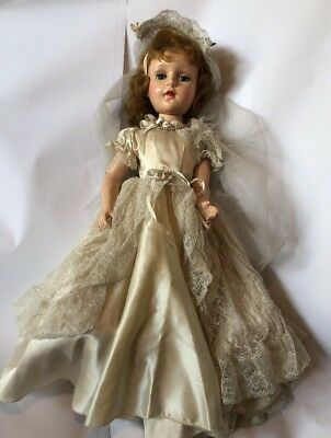 Madame Alexander Walker Bride 1950s Vintage - Great Condition