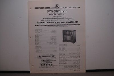 RCA VICTOR RADIO Service Manual Model Bt 6-3 Bc 6-4 Bt 6-10 (8 Pages