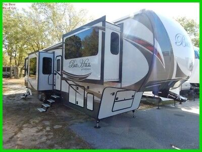 2016 EverGreen RV Bay Hill 379FL Used Fifth Wheel Trailer Camper Front Living
