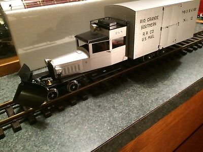 Accucraft 8130 RGS , LGB G Scale Galloping Goose.