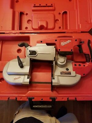 Milwaukee V28 Band Saw W/Case
