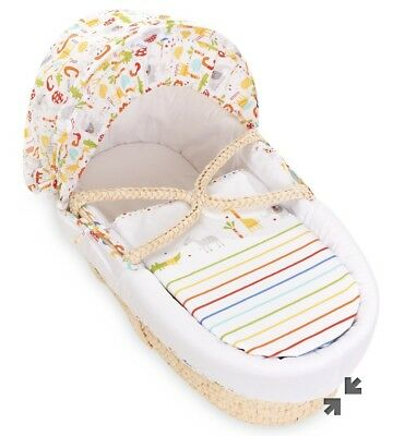 mothercare moses basket RRP £50 NEW