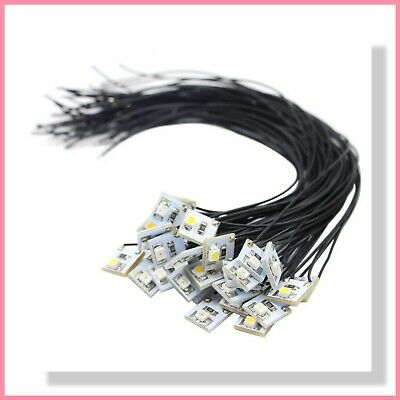 Pre-Wired 3528 SMD LED (x4)  Warm White or Bright White