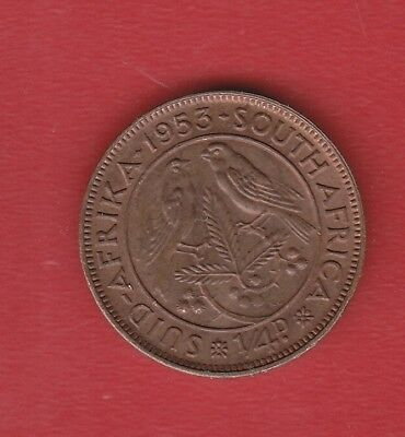 South Africa  Farthing 1953