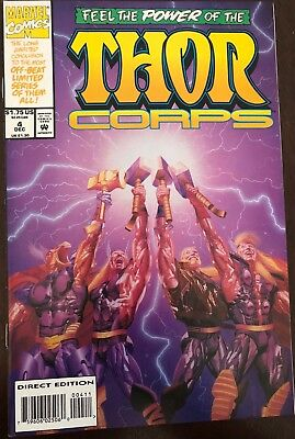 Feel The Power Of The Thor Corps December 4, 1993 VF