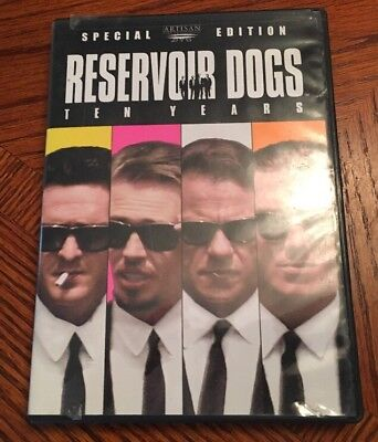 Reservoir Dogs (Two-Disc Special Edition) Widescreen Full Screen Tarantino Film