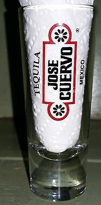 JOSE CUERVO Tequila Tall Clear Shot Glass / Shooter