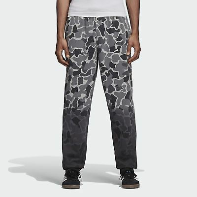 Adidas Men's Originals Camouflage Dip-Dyed Pants Gray Camo-Black dh4808