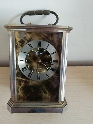 Carriage Clock With Alarm  Made By Coial