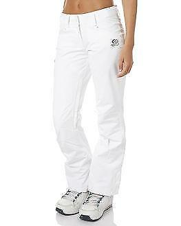 Rip Curl SLIDER SNOW PANT Womens Snowboard Ski Waterproof Mountain Pant - White