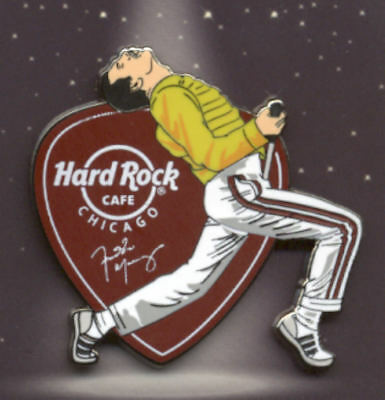 Hard Rock Cafe Chicago Freddie Mercury 2018 Pin