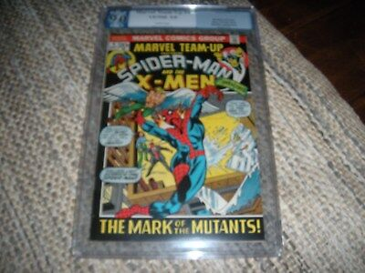 Marvel Team-up  # 4  PGX. CGC 9.0 white pages (spiderman)
