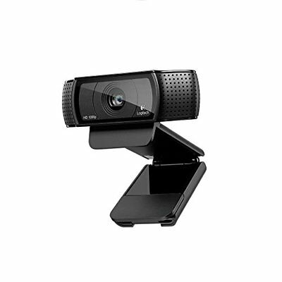 Logitech C920 HD Pro USB 1080p Webcam - Black