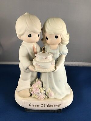 """Enesco Precious Moments """"A Year Of Blessings"""" Figurine 163783 1995"""