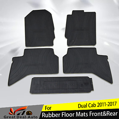 Front Carpet Mats suitable for Mazda BT50 2015-2016 MY16 set of 2 Genuine
