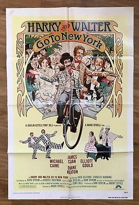Harry And Walter Go To New York Original Vintage Movie Poster 1976