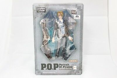 Megahouse ONE PIECE Portrait Of Pirates Strong Edition Sanji from japan