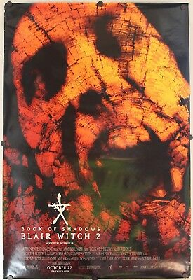 """Book of Shadows: Blair Witch 2 2000 Double Sided Original Movie Poster 27"""" x 40"""""""