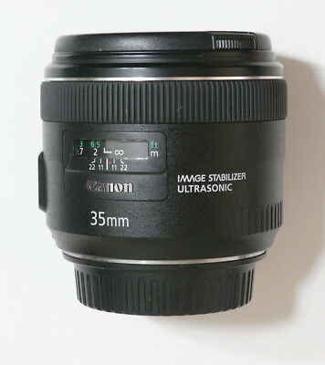 Canon EF35mm F2 IS USM -Nice and Mint-