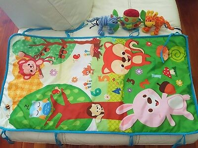As new Playgro Noahs Arch Pram baby Toy and new tummy time mat