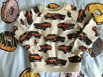 Rock Your Baby / Kid 'Eat My Dust' Jumper Size 4 EUC