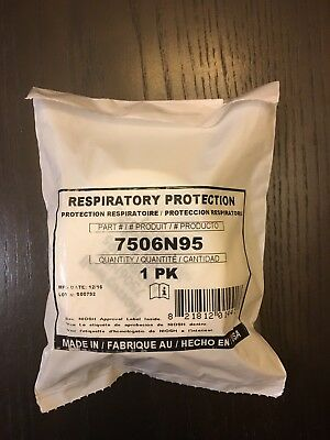 North 7506N95 N95 Particulate Prefilters 10 Pack for 5500 and 7700 Respirators