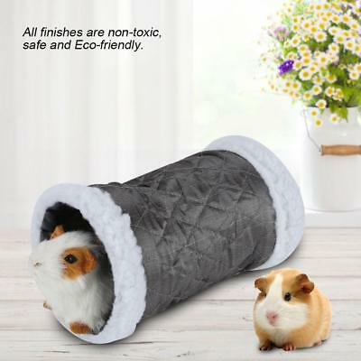 Rats Hedgehog /… Mice Gerbil Rat 2 Pcs Small Animal Tube Squirrel Guinea Pig Hideaway Play Tunnel Chinchillas Fun Pet Toy for Hamster
