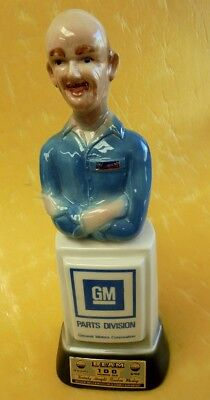 "EARLY JIM BEAM ""GM PARTS DIVISION"" DECANTER ""Mr GOODWRENCH""1978"