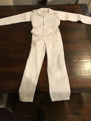 White Coverall Kids Caddie Uniform Toddlers Halloween Uniform Masters Golf Caddy