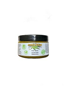 500mg Hemp Balm All Natural Coconut Oil  Lavender Mint Topical Use Only 4oz Jar
