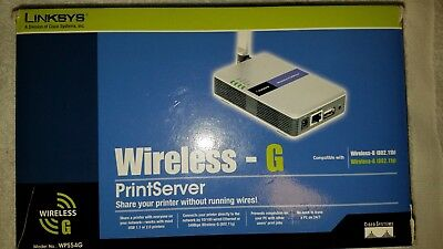 Linksys WPS54G Wireless Print Server