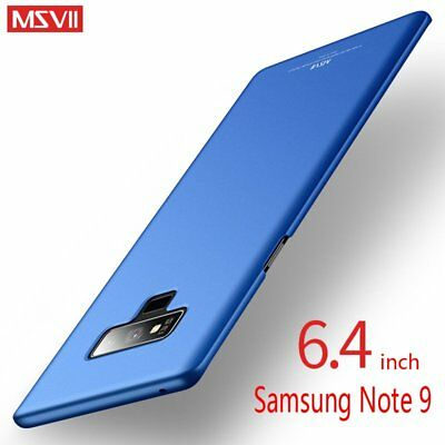 Msvii Luxury Ultra Thin Slim PC Hard Back Cover Case For Samsung Galaxy Note 9