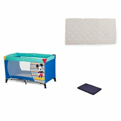 Hauck Disney Baby Dream-n-Play Travel Cot with Folding Mattress, 60 x 120 ...