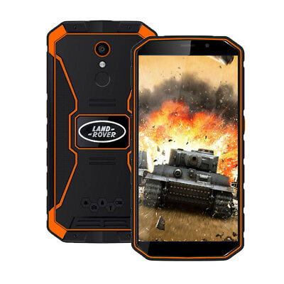 """Unlocked 5.5"""" Android 8.1 4G Rugged Smartphone 2G+16G HD Quad Core Outdoor Phone"""