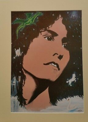 Marc Bolan limited edition print.