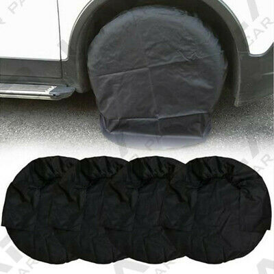 "4X Universal Wheel Tire Cover for RV Truck Camper Trailer Car 32"" inch Diameter"