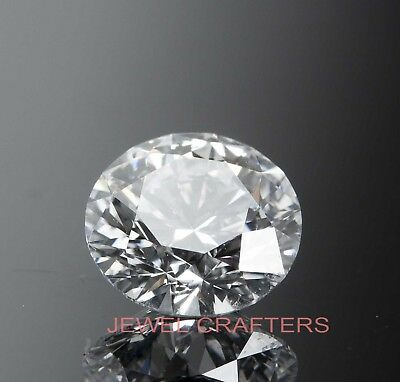 Loose Round Cut 7.00mm 1.10ct VVS1-D White Brilliant Lab Diamond Loose Solitaire