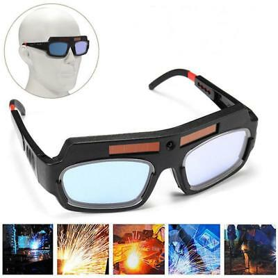 Pro Solar Powered Auto Darkening Welding Mask Helmet Eyes Goggle Welder Glasses