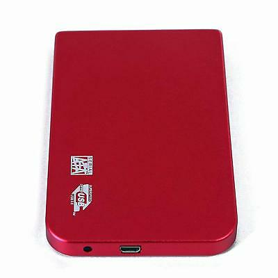"External 2.5"" Portable Hard Drive 80GB 100G 120G 160GB 250GB 320GB 500GB 1TB RED"