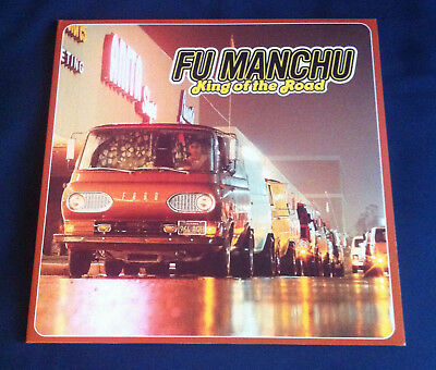 Fu Manchu - King Of The Road - Limited Edt. Yellow Clear 2LP Vinyl - Like-New!!!
