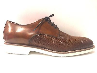 SCARPE CASUAL UOMO Campanile Collection Original 917 Pelle Shoes P e ... 86c623dfaeb