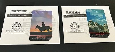 Sts Phone Cards - Americana Collector Series (2 Cards)