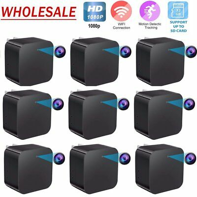 HD 32G 1080P WIFI Hidden Spy Camera USB Charger Night Vision Security Lot QC