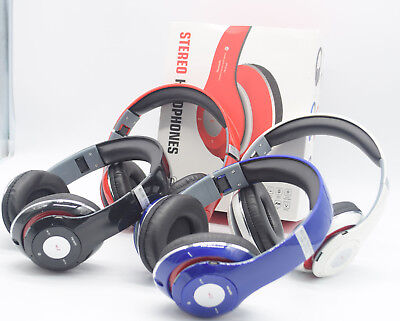 New Wireless Bluetooth Stereo Foldable  Headset Headphones For iPhone Samsung